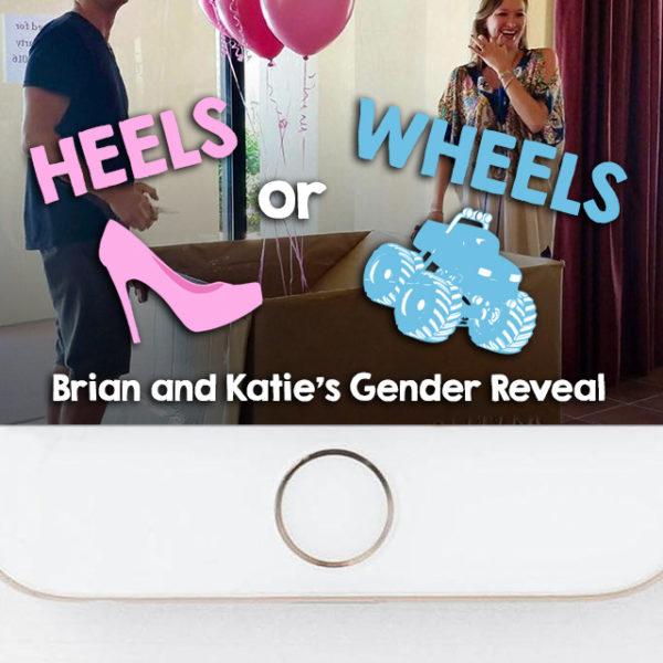 Heels or Wheels Gender Reveal Snapchat Geofilter