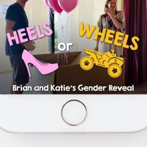 ATV Heels or Wheels Gender Reveal Snapchat Filter