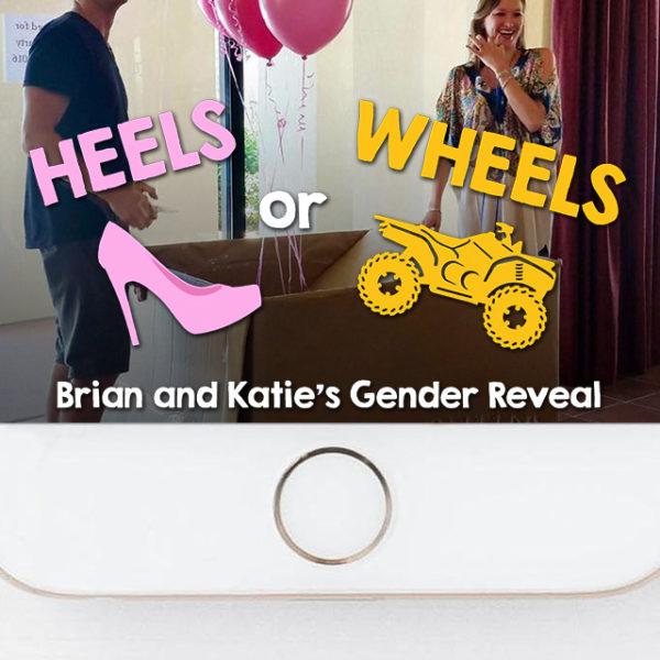 ATV Heels or Wheels Gender Reveal Snapchat Filter