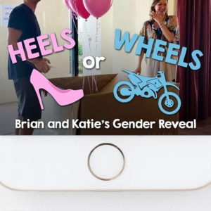 Motorcycle Heels or Wheels Gender Reveal Snapchat Filter