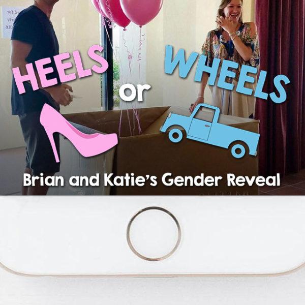 Pickup Truck Heels or Wheels Gender Reveal Snapchat Filter