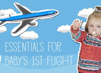 5 Essentials for Baby's First Flight