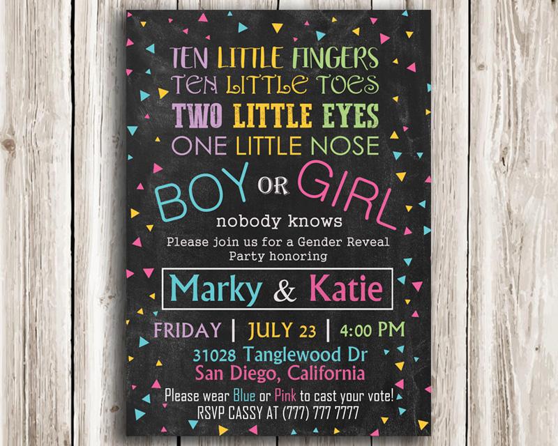photo regarding Printable Gender Reveal Invitations titled Boy or Woman? Printable Gender Explain Invitation