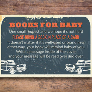 Classic Car Hot Rod Book Request Insert